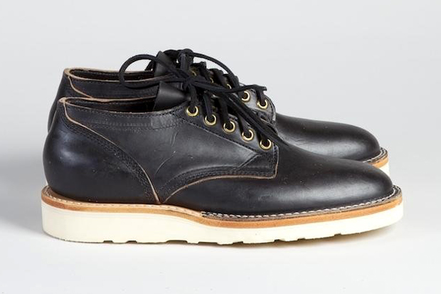 Image of Superdenim x Viberg 145 Oxford Black Chromexcel