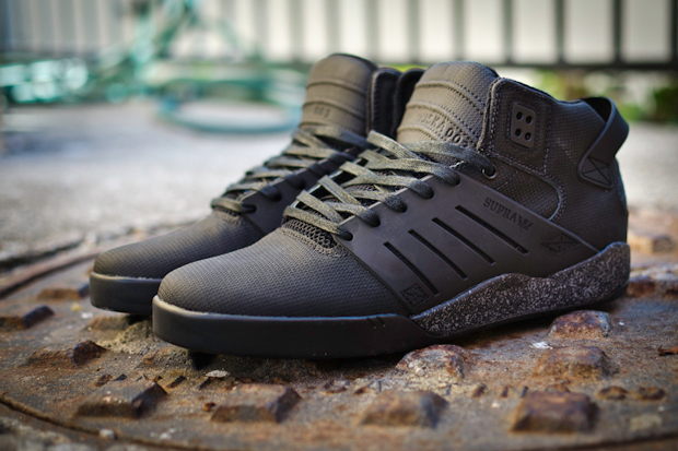 "Image of SUPRA Skytop 3 ""Black Stealth"""