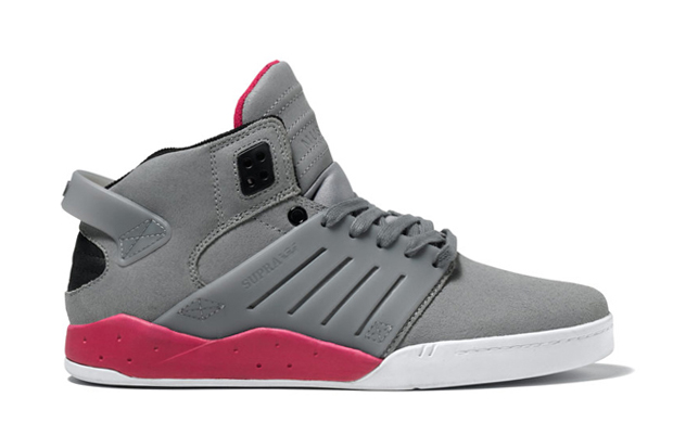 Image of SUPRA Skytop 3 Grey/Magenta/White