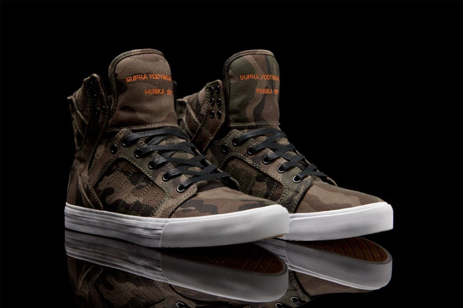 Image of SUPRA Skytop Camouflage