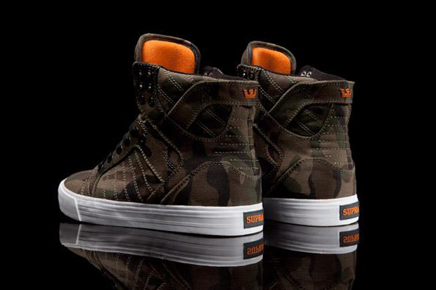 Image of SUPRA Skytop Halloween Camo Preview