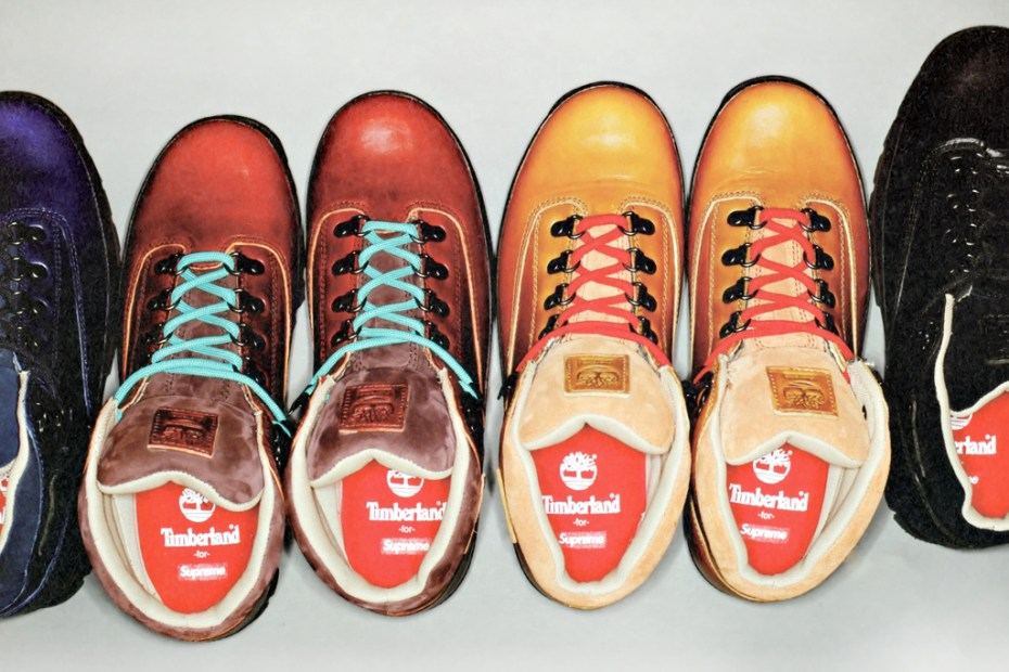 Image of Supreme x Timberland Euro Hiker Boots