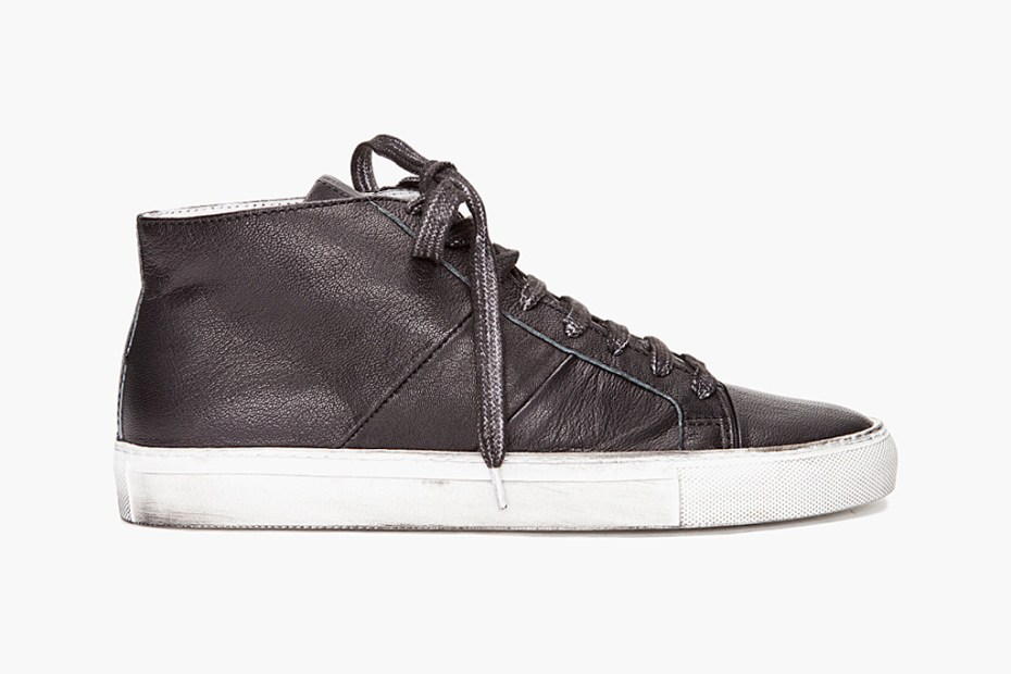 Image of Surface to Air Overdyed Mid Top Sneakers