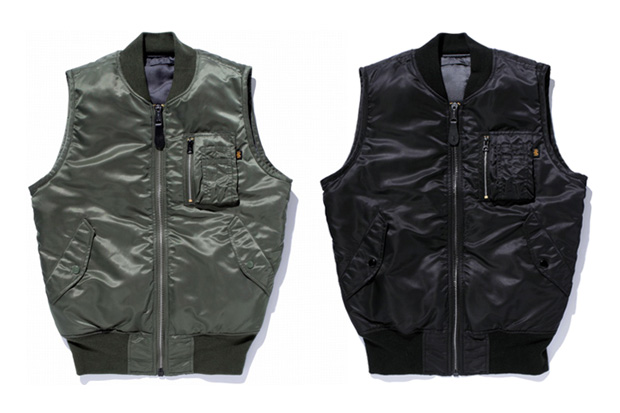 Image of SWAGGER x Alpha Industries MA-1 Reversible Vest