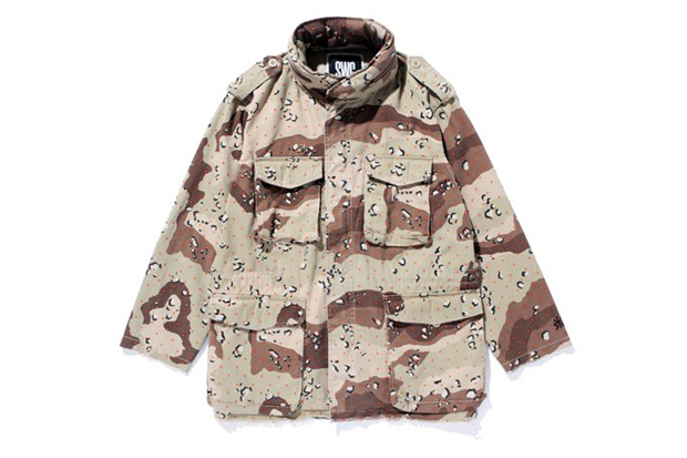 Image of SWAGGER CUT-OFF DOT CAMO M-65