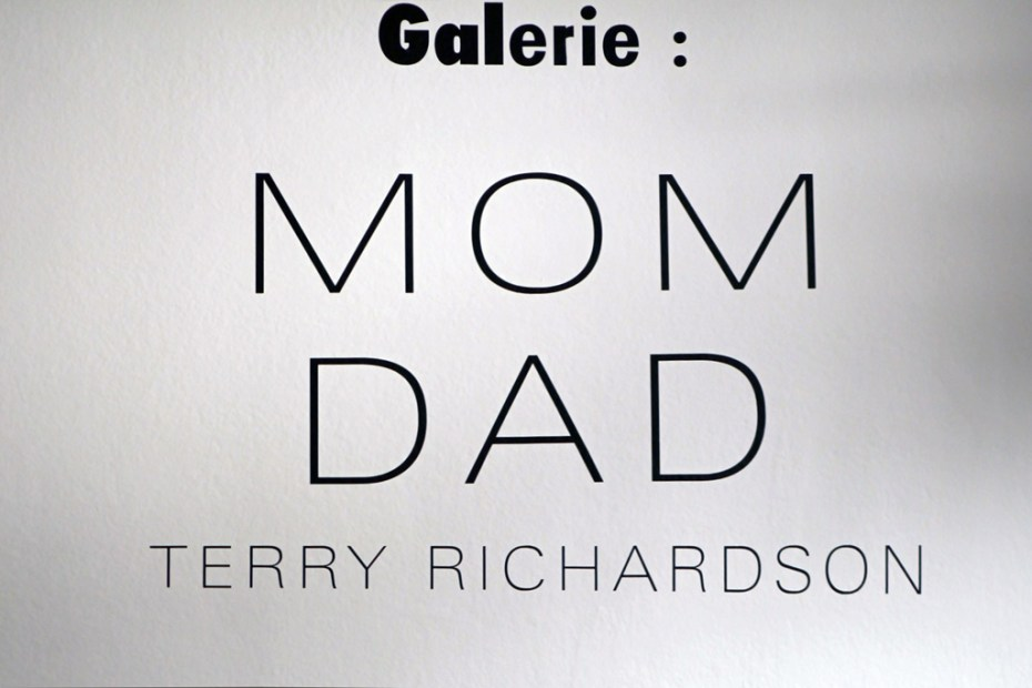 "Image of Terry Richardson ""Mom & Dad"" Exhibition @ colette Recap"