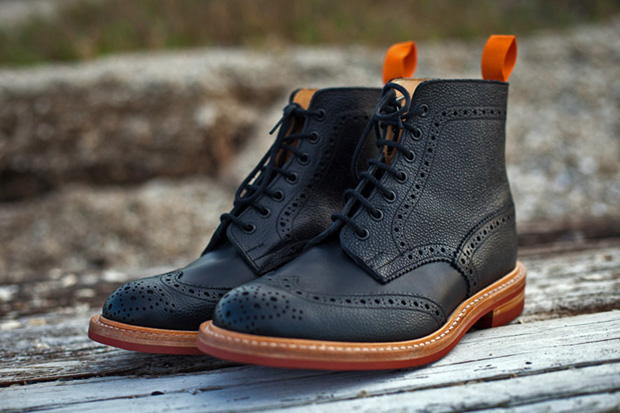 Image of The Brooklyn Circus x Tricker&#039;s 2011 Winter Brogue Boots