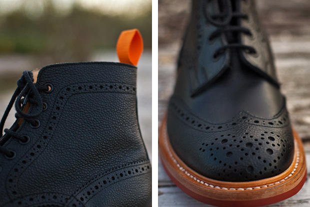 Image of The Brooklyn Circus x Tricker's 2011 Winter Brogue Boots