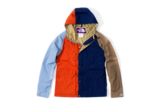 Image of THE NORTH FACE PURPLE LABEL Multicolored Mountain Parka