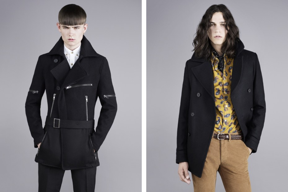 Image of Topman Classics Projects: The Pea Coat