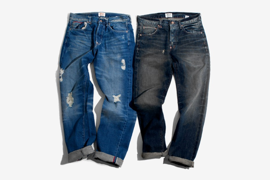 Image of Twelve Bar Cerrone Indigo Vintage and Newman Old School Selvage Denim