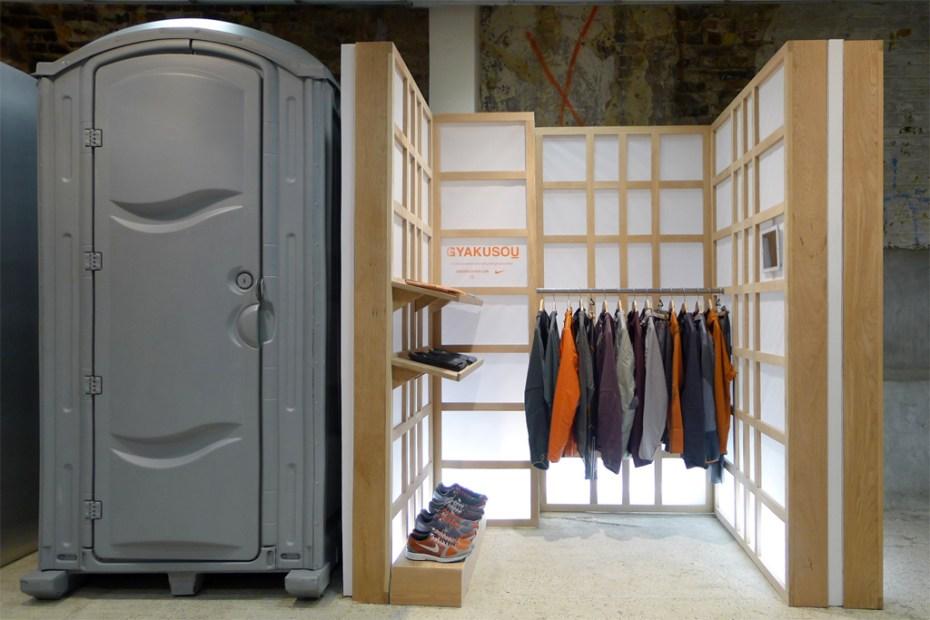 Image of UNDERCOVER x Nike GYAKUSOU Installation @ Dover Street Market