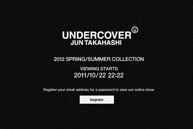 Image of UNDERCOVER Official Website Launch