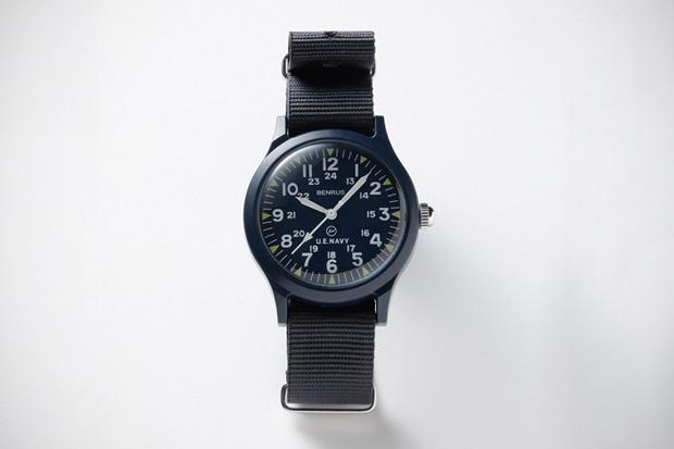Image of uniform experiment x Benrus Military Watch - SOPH.HANKYU MEN'S TOKYO Exclusive