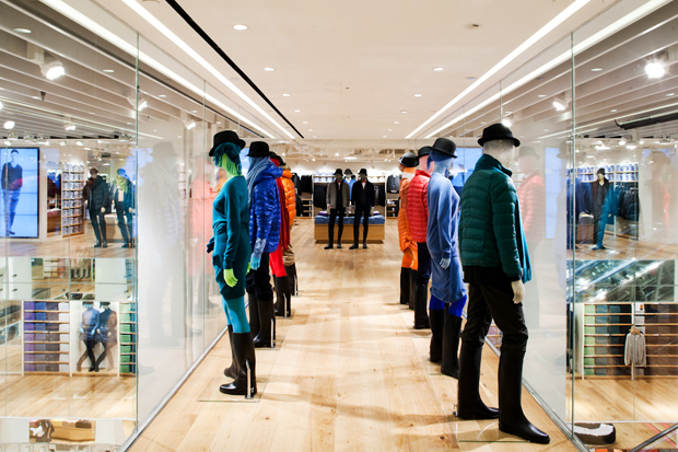 Image of Uniqlo Fifth Avenue Store Opening NYC