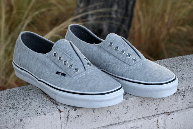 Image of Vans Era Laceless Heathered Fleece/Wild Dove