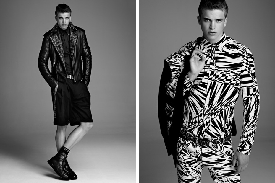 Image of Versace for H&M Men's 2011 Fall/Winter Collection Lookbook