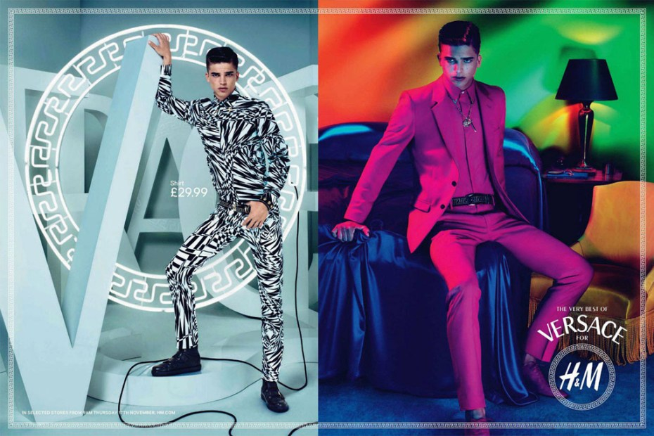 Image of Versace for H&M Campaign Preview