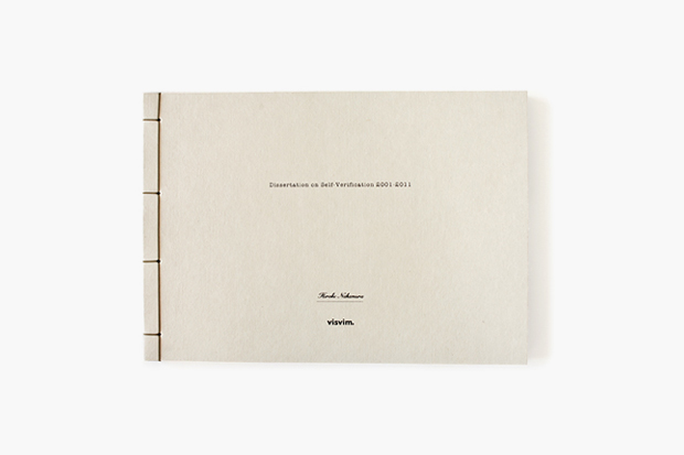 Image of visvim 10th Anniversary Book 'Dissertation on Self-Verification 2001-2011'