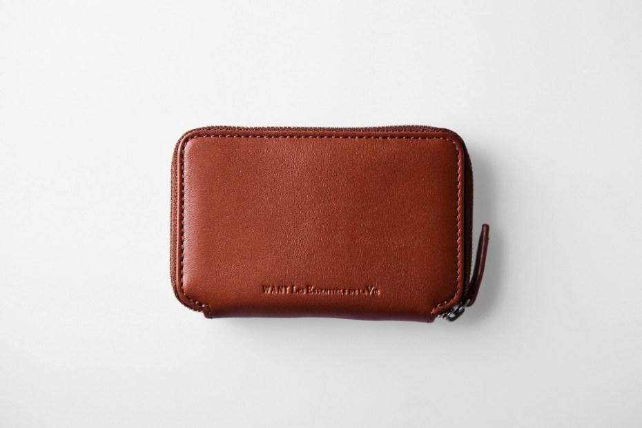 Image of WANT Les Essentiels de la Vie 2011 Holiday Bi-Fold Zip Wallet & Card Holder