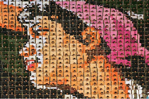 Image of Werner Kranwetvogel: Mass Games Photo Series