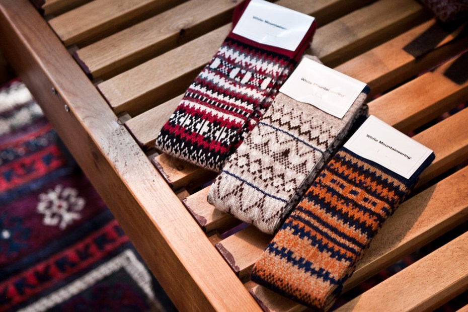 Image of White Mountaineering 2011 Fall/Winter Pattern Socks