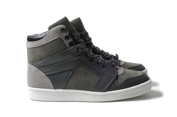 Image of White Mountaineering Hi-Cut Sneaker Shipton Grey
