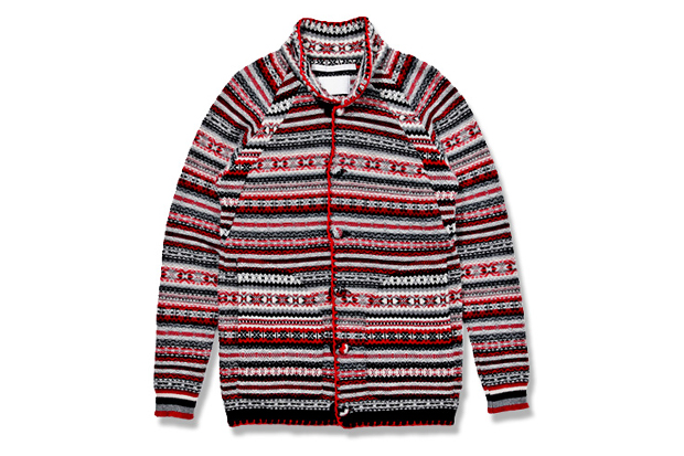Image of White Mountaineering Jacquard Nordic Knit