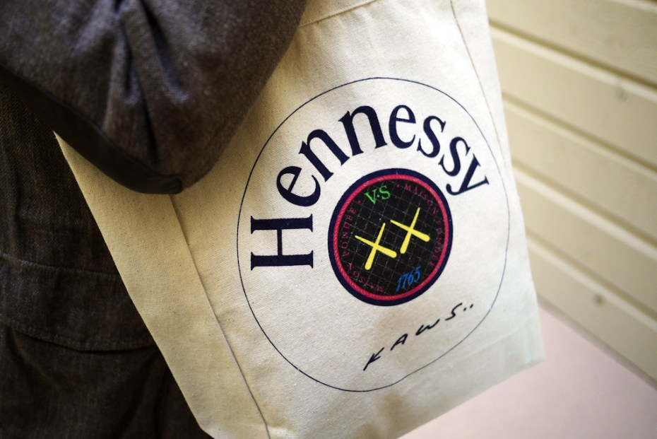 Image of Win an Exclusive Hennessy x KAWS Tote Bag!