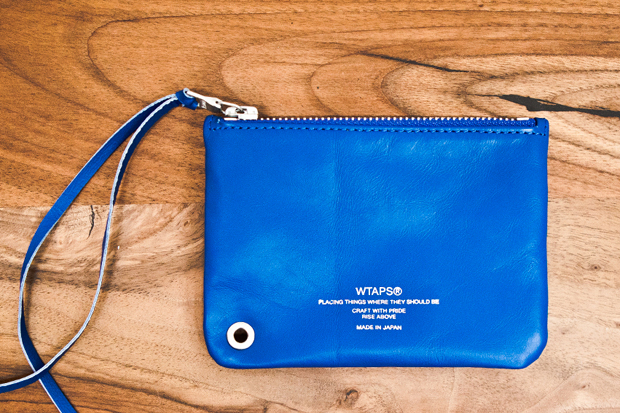 Image of WTAPS Leather Pouch