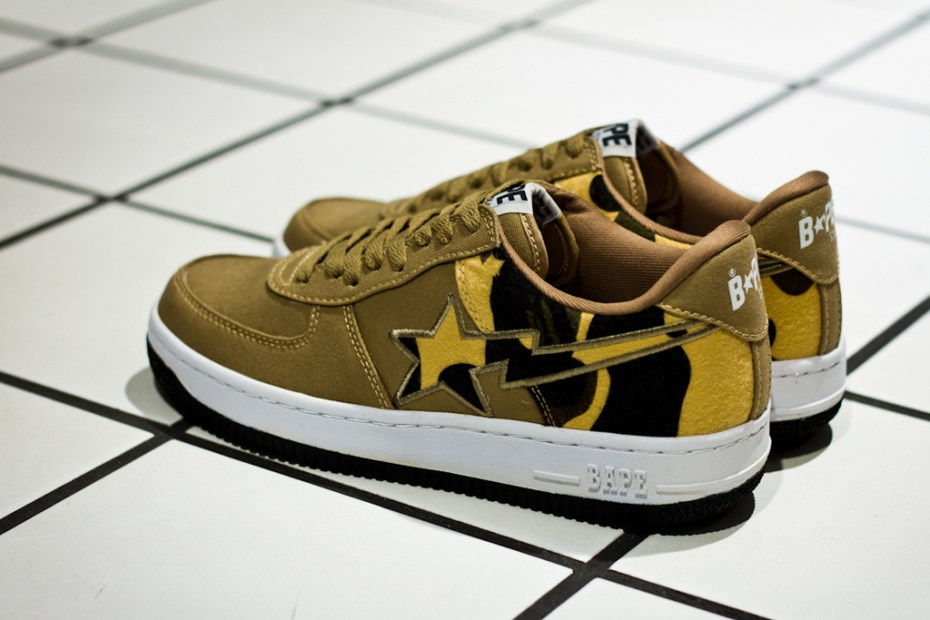 Image of A Bathing Ape 1st Camo Canvas BAPE STA - A Further Look