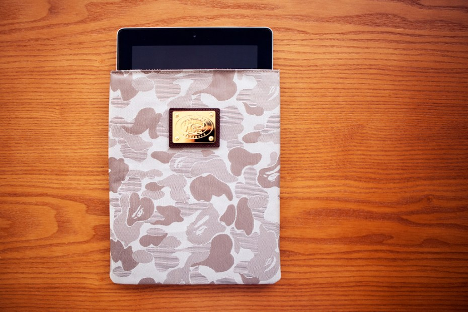 Image of A Bathing Ape JACQUARD  ABC CAMO  IPAD CASE