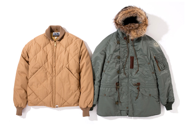 Image of A Bathing Ape x Toys McCoy 2011 Holiday Jackets