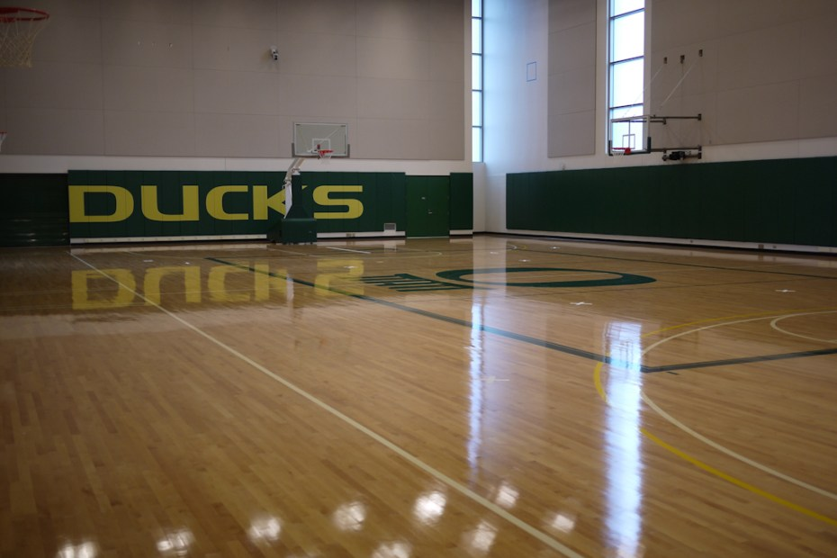 Image of Oregon Ducks: A Tour of Matthew Knight Arena