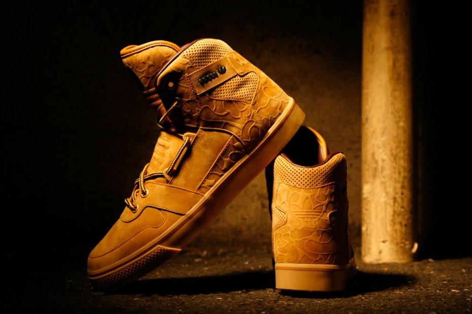 """Image of adidas Originals for CHAPTER WORLD """"Wheat"""" Hardland"""