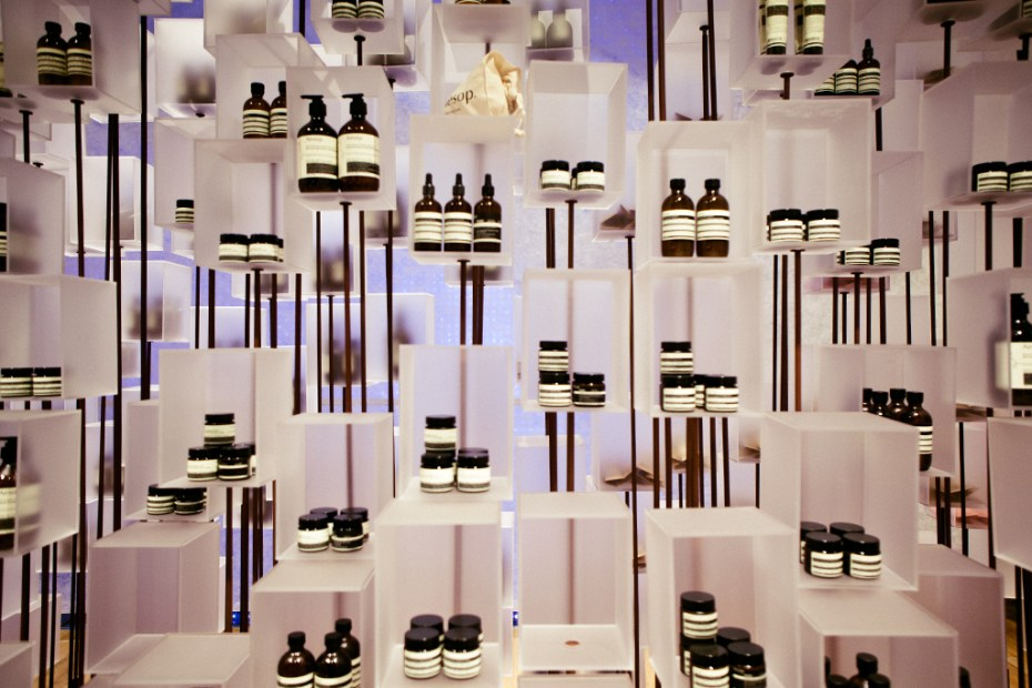 Image of Aesop Installation @ I.T Hysan