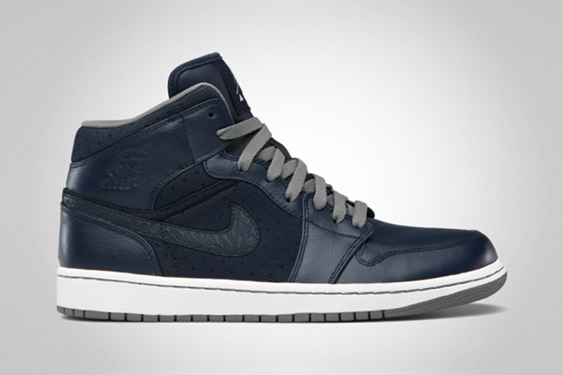 Image of Air Jordan 1 Phat Obsidian/Cool Grey-White