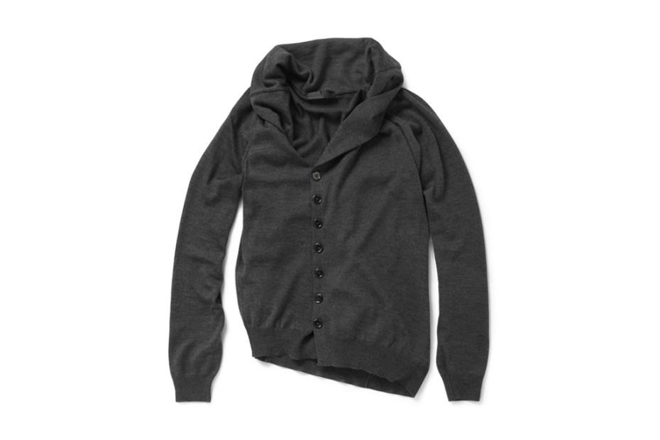 Image of Alexander McQueen Asymmetric Buttoned Cardigan