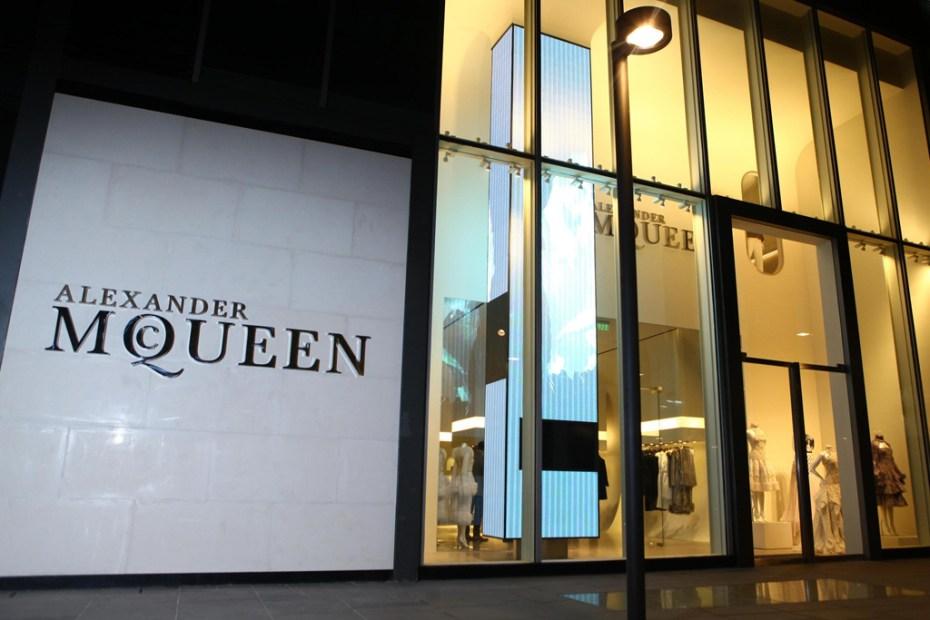 Image of Alexander McQueen Beijing Store Opening