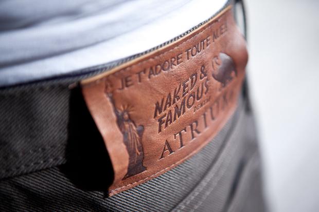 """Image of Atrium x Naked & Famous """"Je T'Adore Tout Nue"""" Denim"""