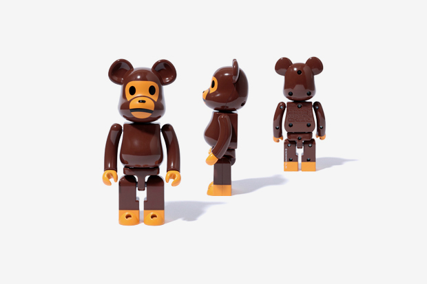 Image of Baby Milo x Medicom Toy Chogokin Bearbrick