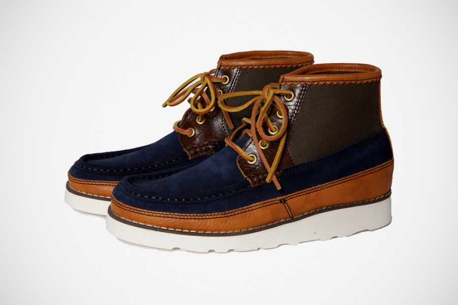 Image of Balabushka Remnants 2011 Fall/Winter Chukka Moccasin