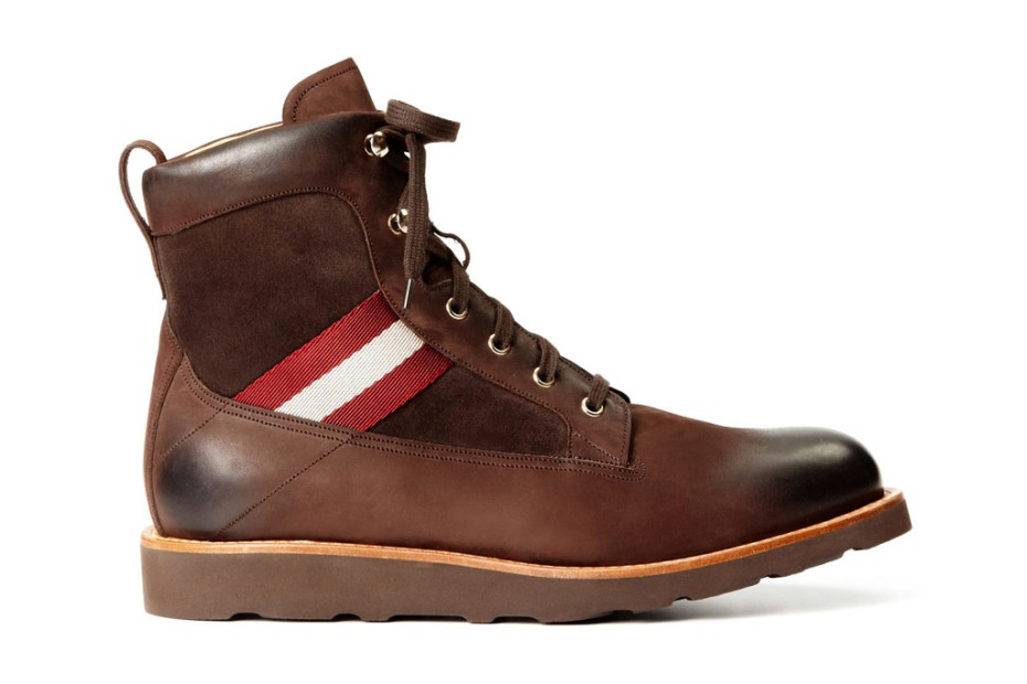 Image of Bally Grosgrain Hiking Boots