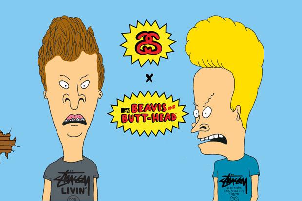 Image of Beavis & Butt-Head x Stussy Announcement