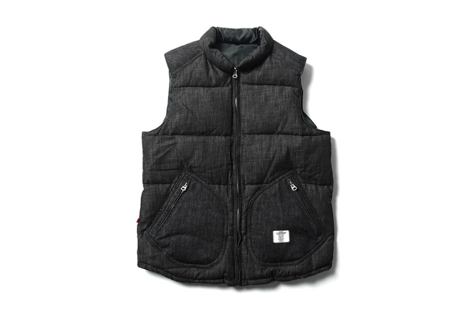 "Image of BEDWIN & THE HEARTBREAKERS ""Fripp"" Reversible Down Vest"