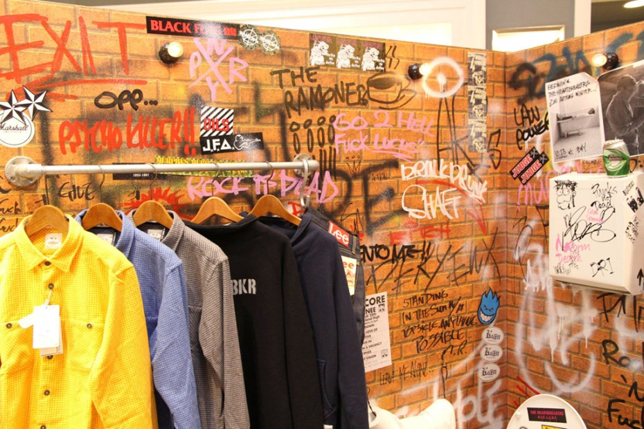 Image of BEDWIN & THE HEARTBREAKERS Installation @ Beauty & Youth United Arrows Shibuya