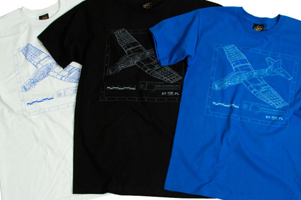 "Image of Staple Design x Benny Gold ""The Glider Plane"" Series T-Shirt"