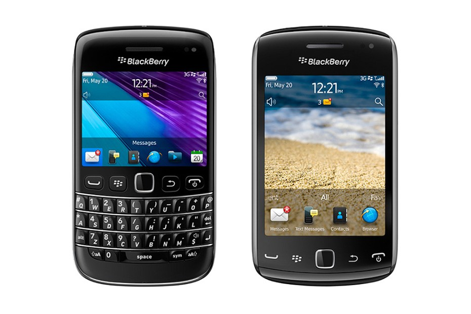 Image of BlackBerry Bold 9790 & BlackBerry Curve 9380 Smartphones