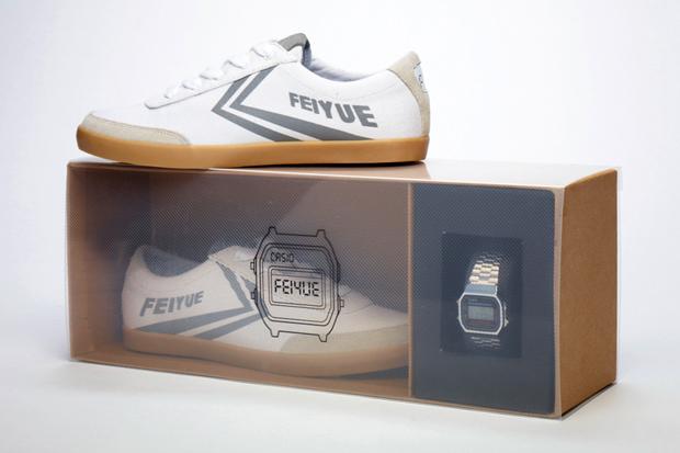Image of Casio x Feiyue 2011 Silver Boxset
