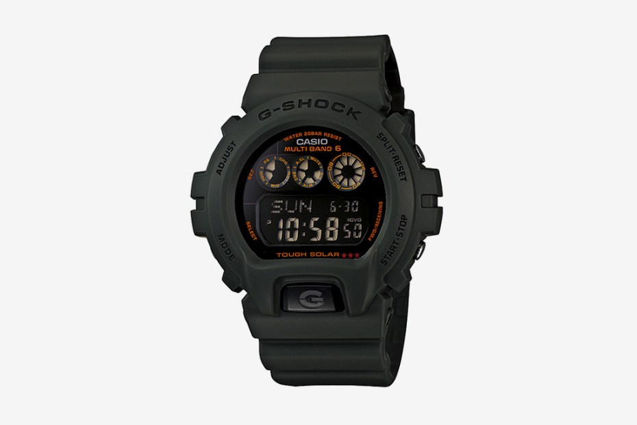Image of Casio G-Shock 2011 Army Green Collection